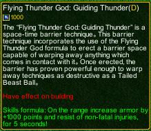 naruto castle defense 6.0 Flying Thunder God Guiding Thunder detail