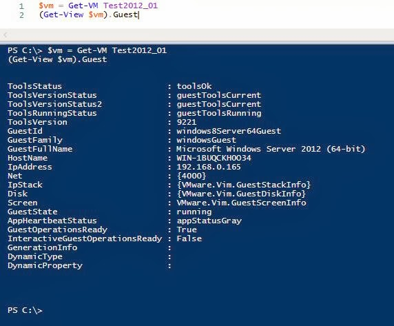 VMWare & PowerCLI : $vm Guest Objects , using Get-View | IT Professional