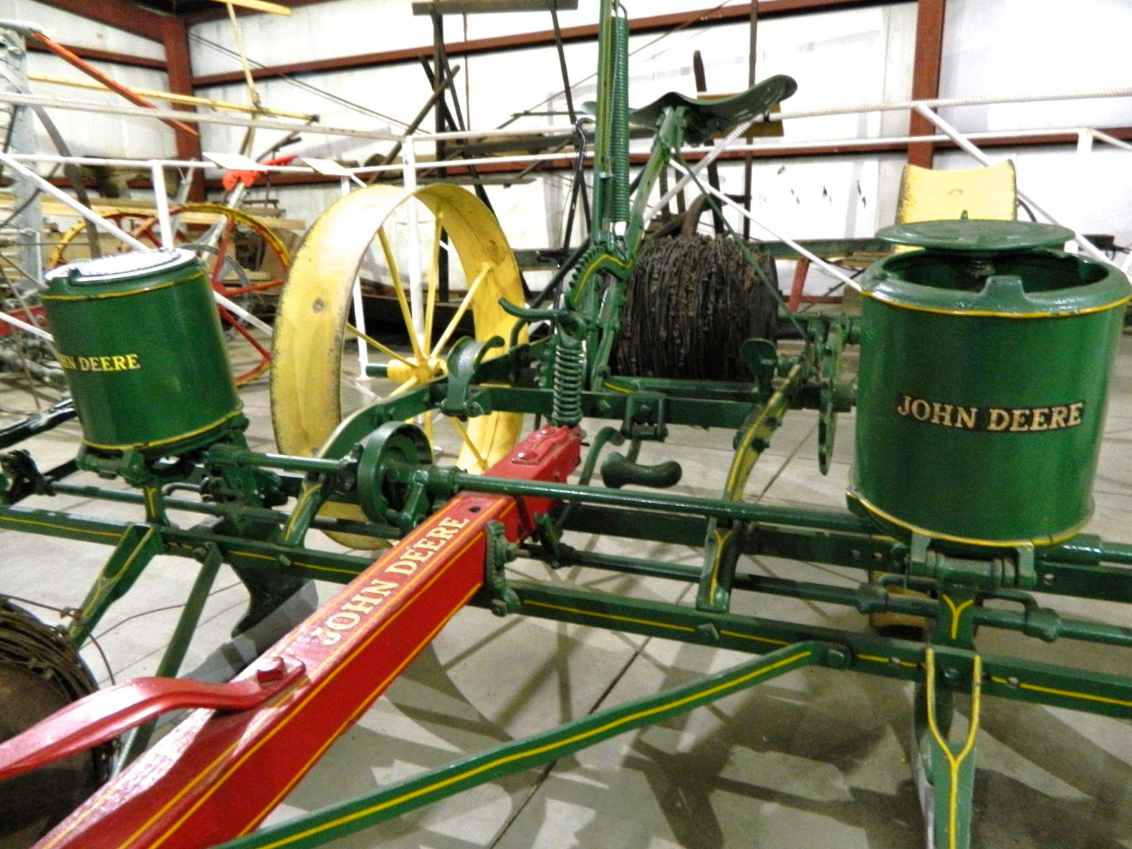Stuhr Museum Of The Prairie Pioneer S Planting Implements Early