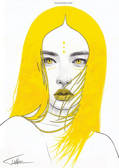"""Yellow I"" - Tomasz Mrozkiewicz 
