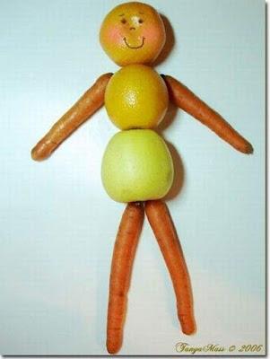 материалы природные, поделки, поделки из овощей, поделки из фруктов, поделки из природных материалов, своими руками, поделки своими руками, для детей, для детского сада, растения, мастер-класс, идеи поделок, коллекция идей, фото, http://prazdnichnymir.ru/ Поделки из овощей и фруктов - коллекция идей