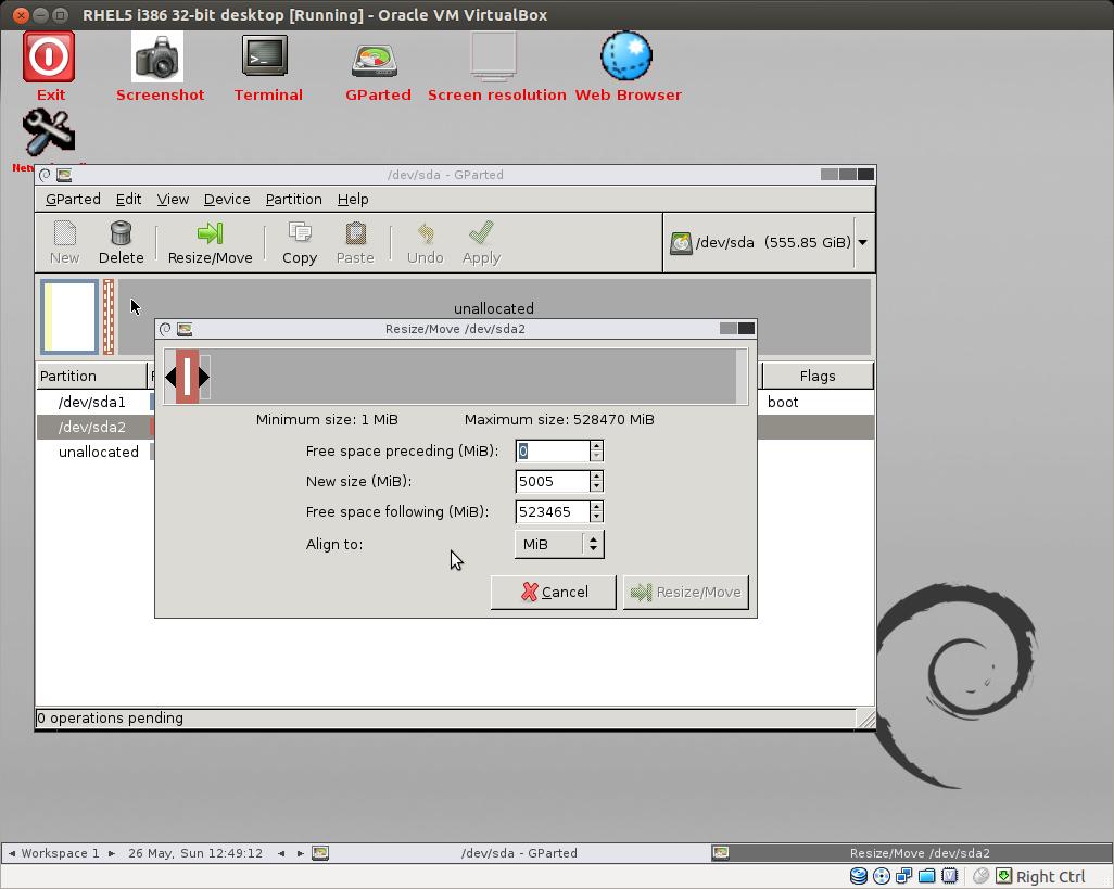 extend swap space linux