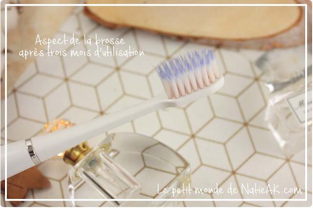 brosse à dent électrique à petit prix fine et sans bruit ActiVital sonic de GUM