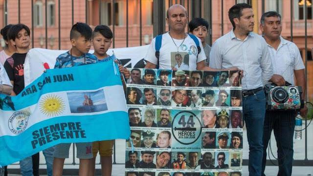 Familiares de víctimas de ARA San Juan acusan a Gobierno de mentir