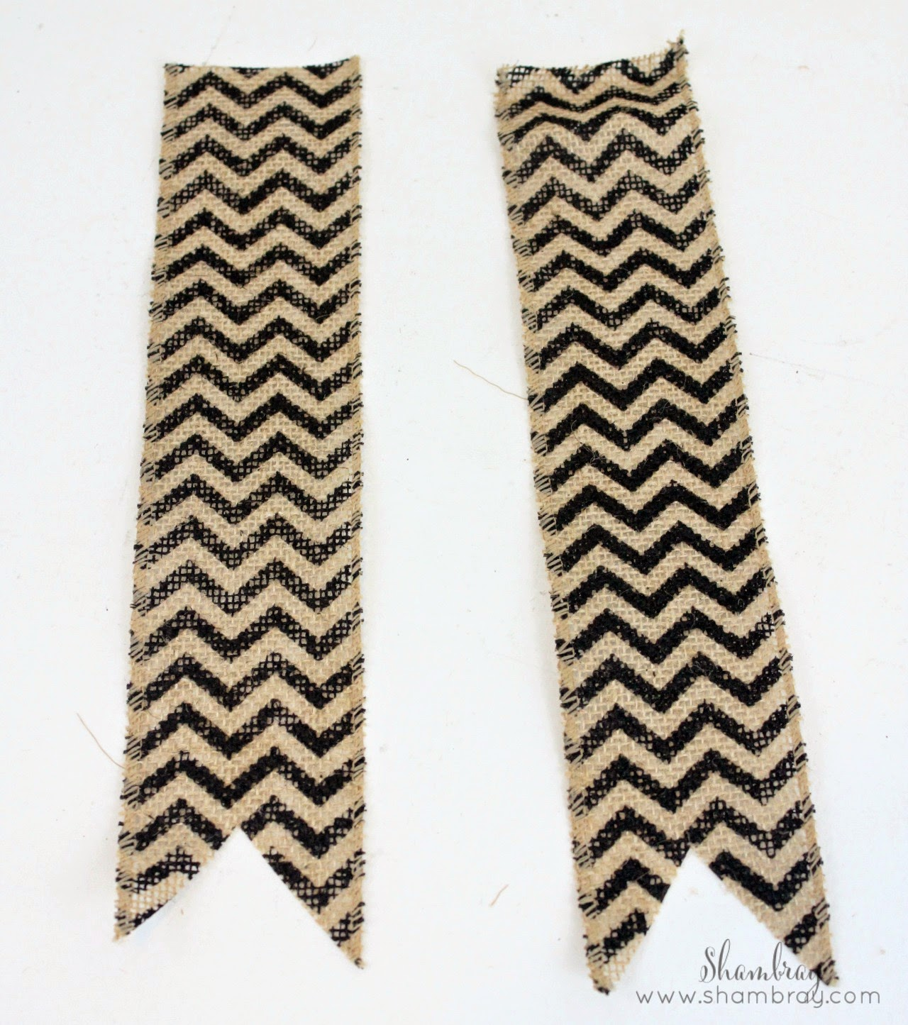 decorative burlap ribbon