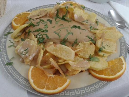 Prato típico do Restaurante O Silva
