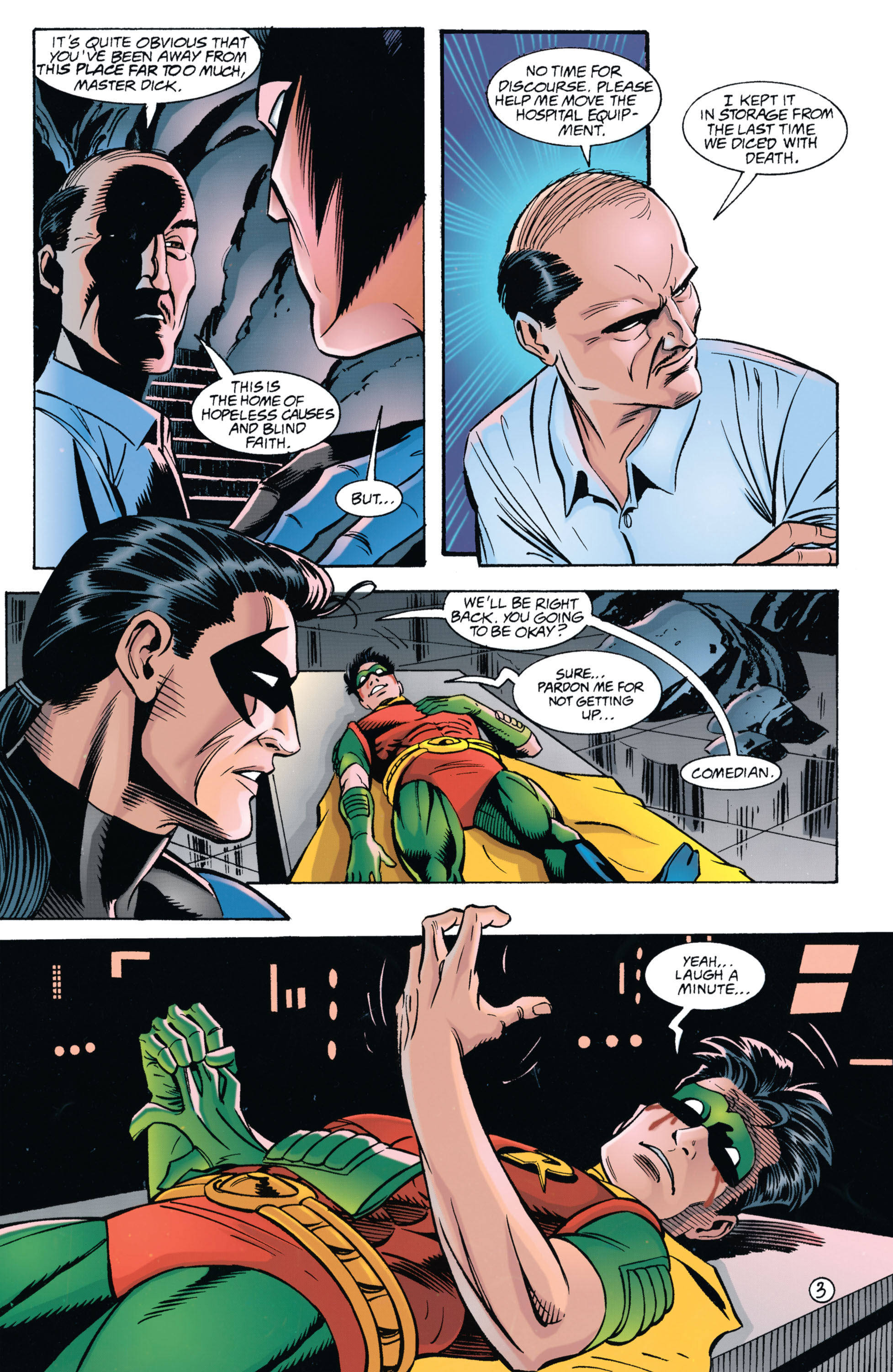 Detective Comics (1937) 696 Page 3
