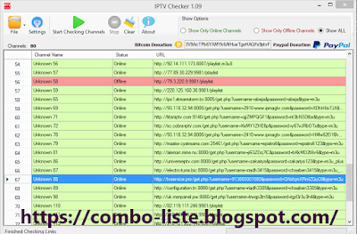 IPTV Links Checker 4.1 latest Version 2019
