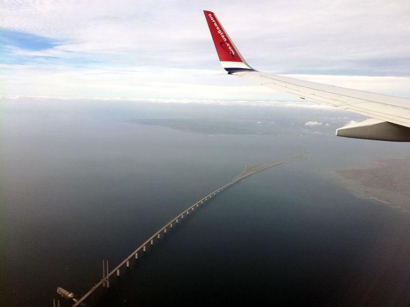 Foto: Il ponte tra la Danimarca e la Svezia
