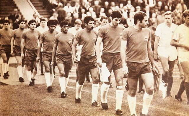 Alemania Democrática y Chile en partido amistoso, 25 de junio de 1969