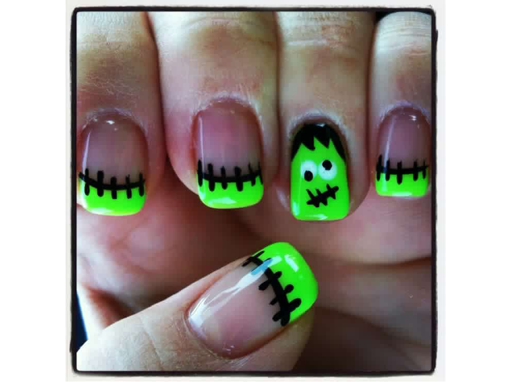 Nail Art Design Ideas For Halloween
