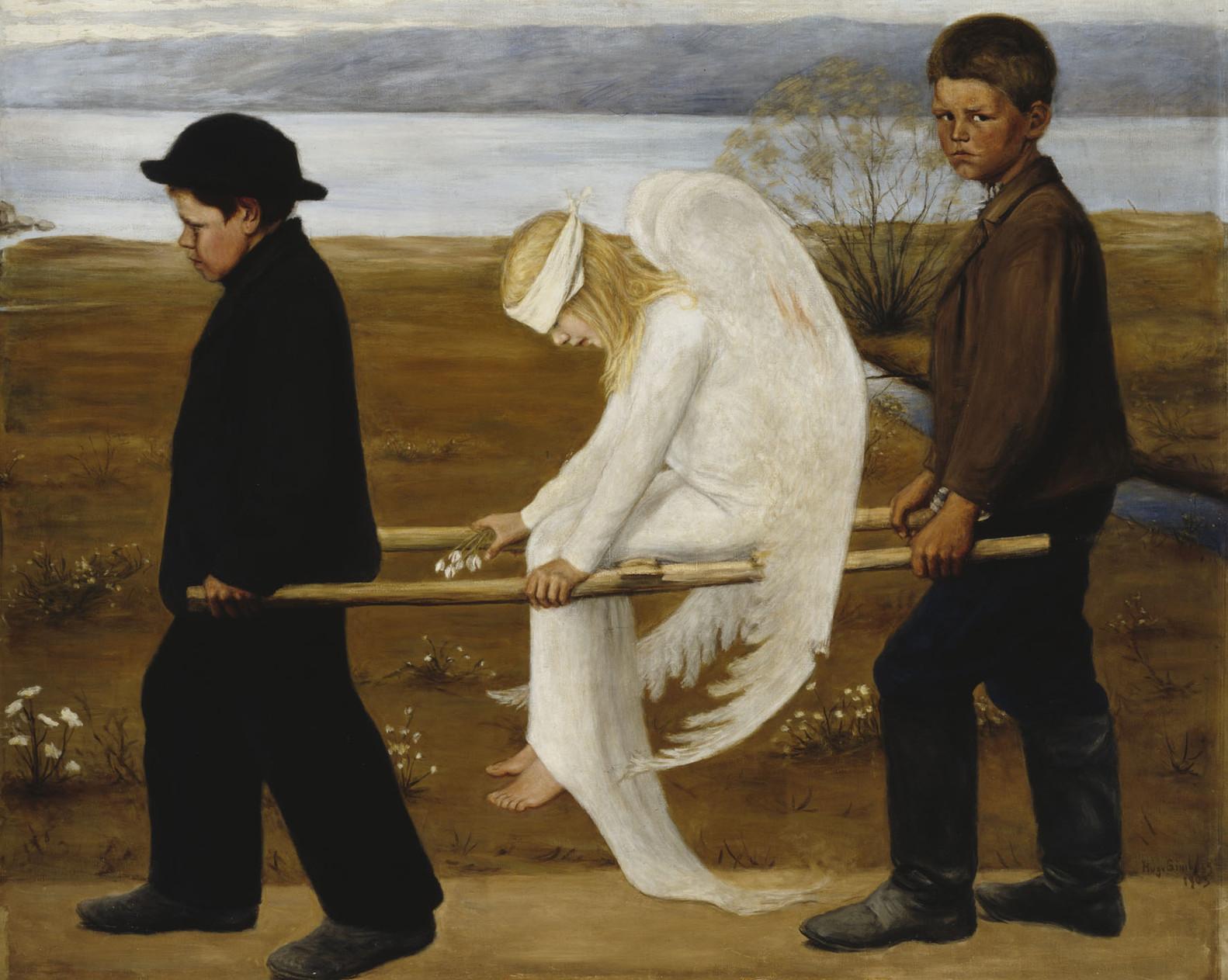 O Anjo Ferido - Hugo Simberg ~ Simbolismo (1903)
