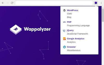 إضافة-Wappalyzer
