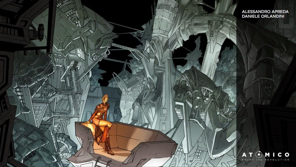 """Nasce """"Atomico"""", la nuova etichetta digitale per la produzione di nuovi fumetti"""