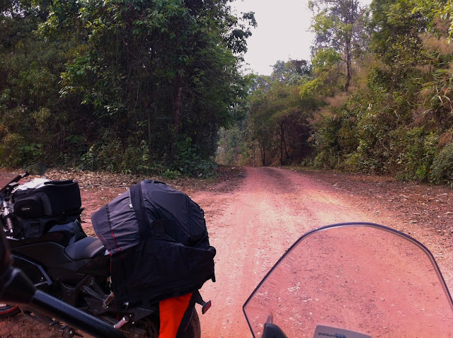 Motorbike riding from Loei to Nan - Thailand