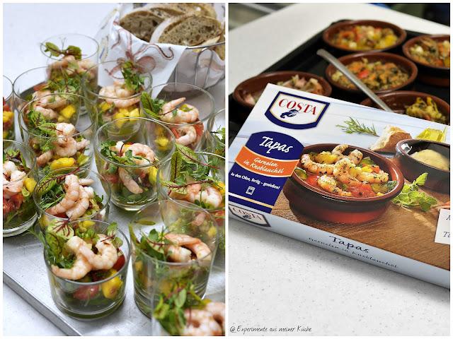 Experimente aus meiner Küche: COSTA Garnelen-Schule
