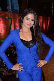 Actress Naina Ganguly Stills in Blue Dress at RGV Shiva to Vangaveeti Event  0003.JPG