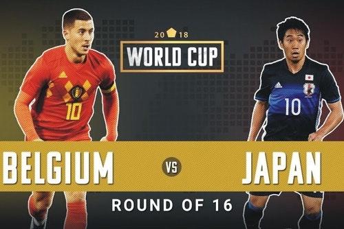 Live Belgium Vs Japan Piala Dunia 3 Julai 2018