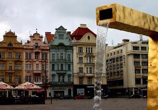 Main square of Plzeň