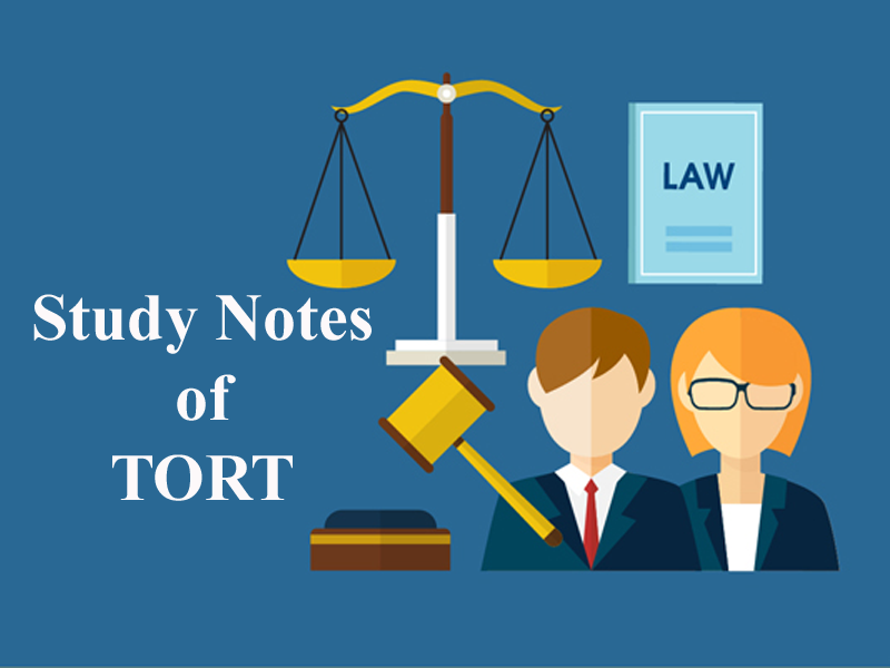 Study Notes on Tort