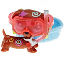 Littlest Pet Shop Postcard Pets Dachshund (#1010) Pet