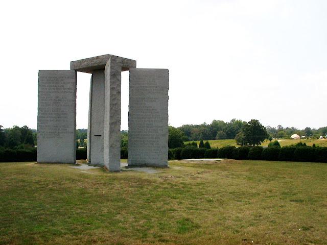 Guidestones+18 American Stonehenge - Monumentul Din Georgia Si Noua Ordine Mondiala