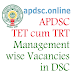 AP DSC 2018 TET cum TRT Management Wise Number of Vacancies