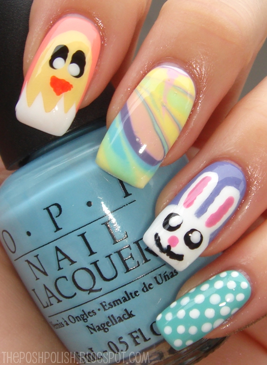 The Posh Polish: Easter Nails