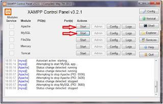 Cara menjalankan XAMPP di windows