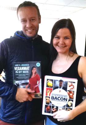 Egg Bacon Tofubacon Kikertomelett Kjøttfri Christopher Sjuve Jane H. Johansen Veganmisjonen