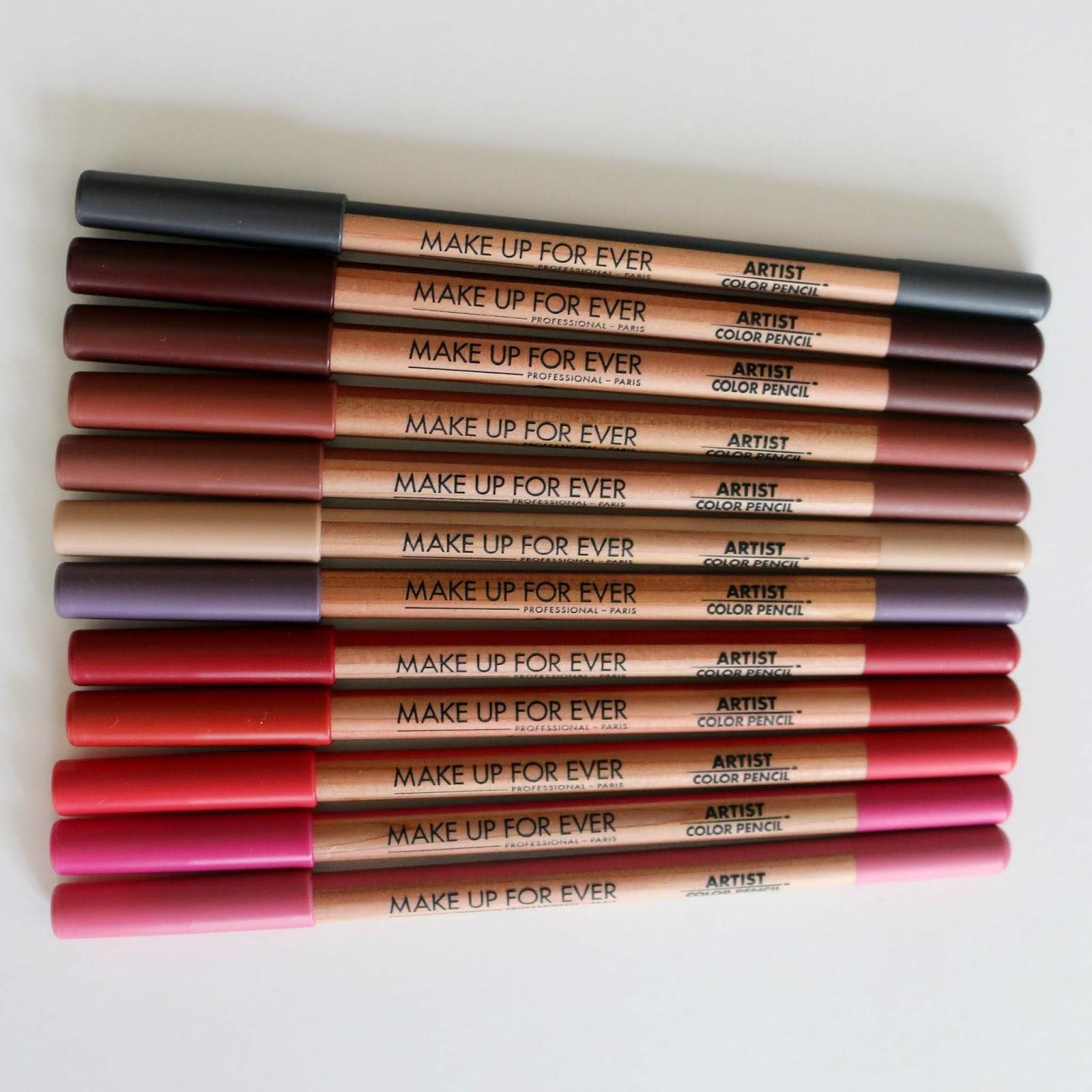Make Up For Ever Artist Color Pencils