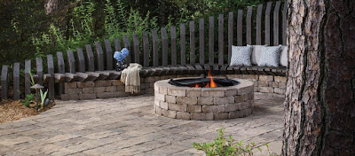 Weston Stone Fire Pit Kit