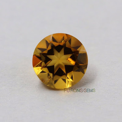 Natural-citrine-yellow-Round-Gemstones-Manufacturer