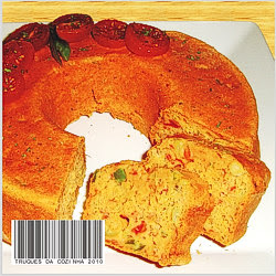 Bolo salgado de tomate