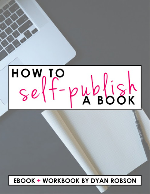 A helpful guide and printable workbook for learning how to self-publish a book or eBook from And Next Comes L