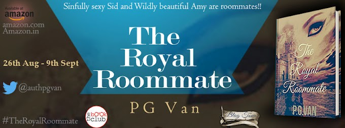Blog Tour: THE ROYAL ROOMMATE by P.G.Van