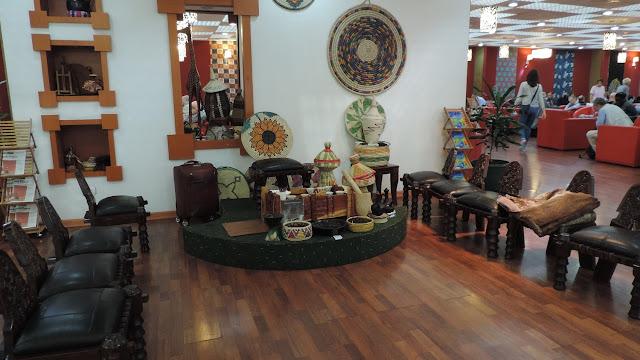 Photo Review Ethiopian Cloud Nine Lounge 2 Addis Ababa T2 ADD