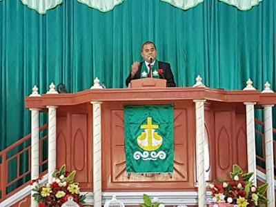 HUT GMIM Syalom Tompaso Ke-6, JWS Pimpin Ibadah Syukuran