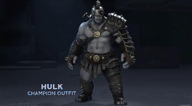 Marvel's Avengers Champion Hulk Legendary Outfit - Community Challenges Cosmetics Planet Hulk