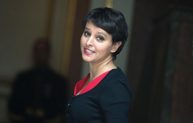 Najat Vallaud-Belkacem se fait critiquer après l'annonce de l'enseignement de l'Arabe dès le CP.