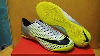 Sepatu Futsal Nike Mercurial Vapor XI Grey