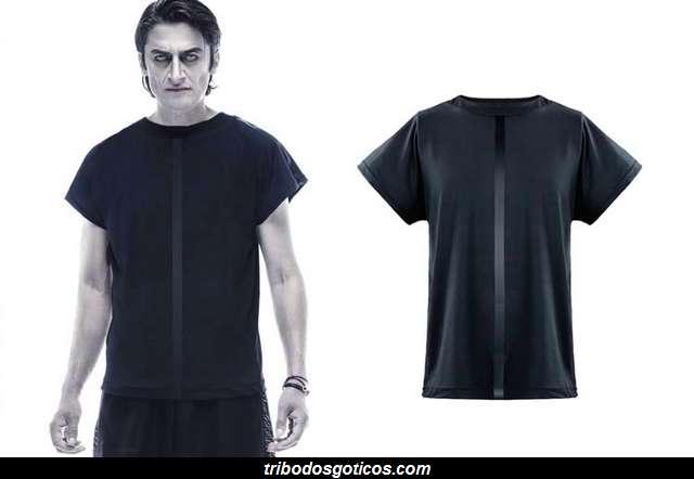 vampire black camiseta preta escuro