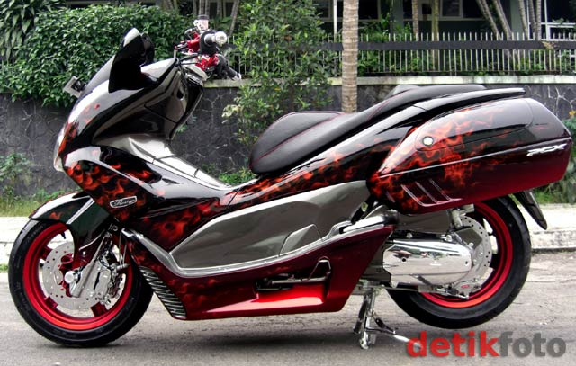 MODIFIKASI HONDA PCX  Indonesiadalamtulisan  Terbaru 2014