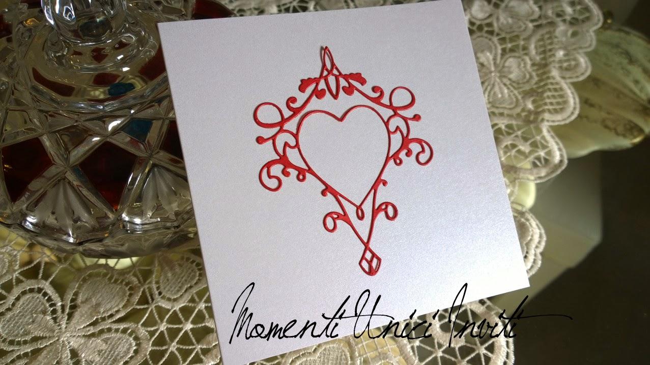 cuore Partecipazione per una coppia fuori dagli schemi... a tema tattooColore Rosso Tema cuori Tema Tattoo Tatuaggi