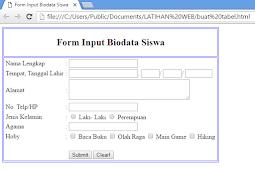 From Biodata Siswa
