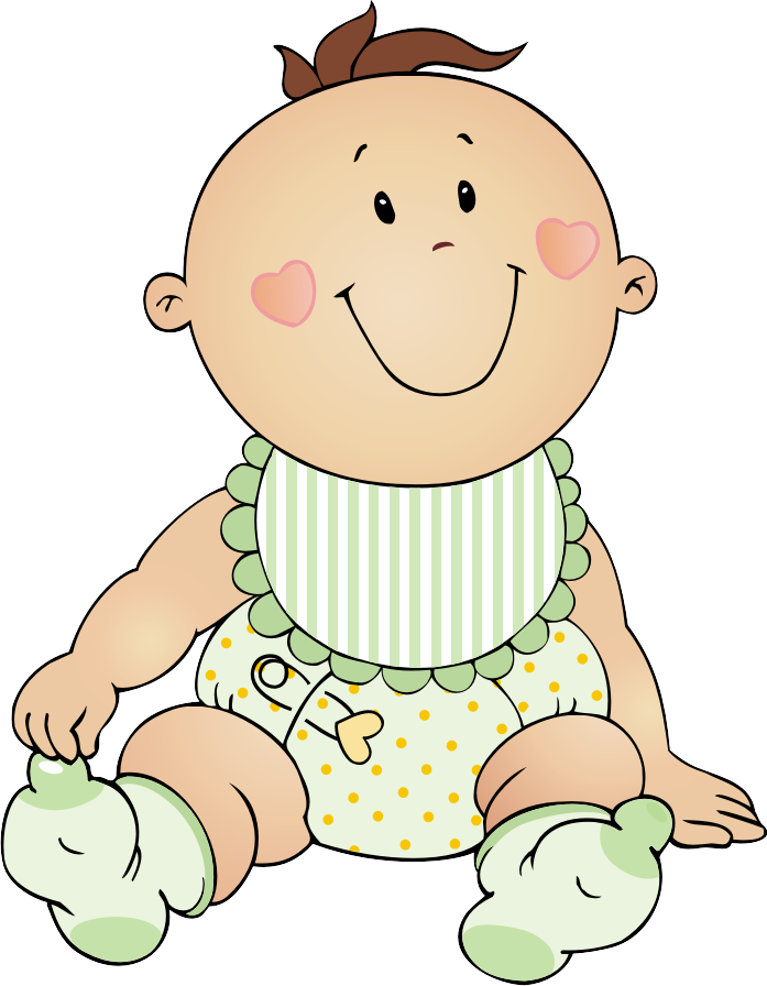 free baby clipart black and white - photo #34