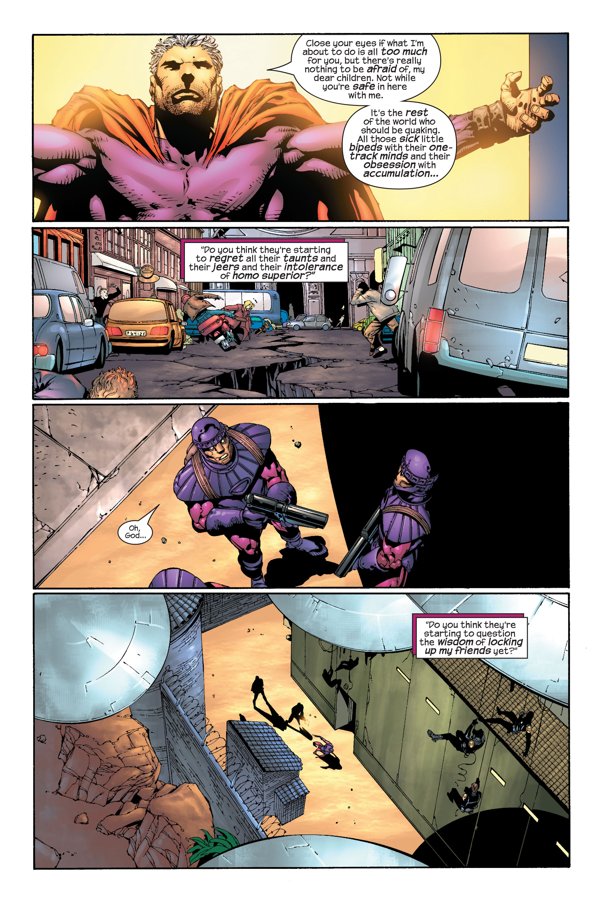 Read online Ultimate X-Men comic -  Issue #30 - 11