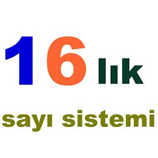 hexedecimal sayı sistemi