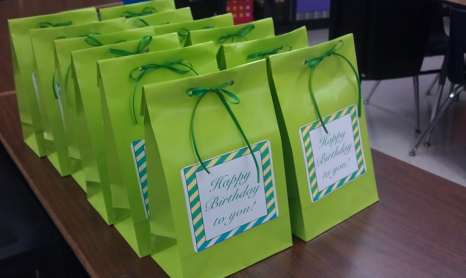 Simply 2nd Resources Birthday Bags