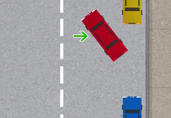 Video: Chequea cómo se estaciona de reversa
